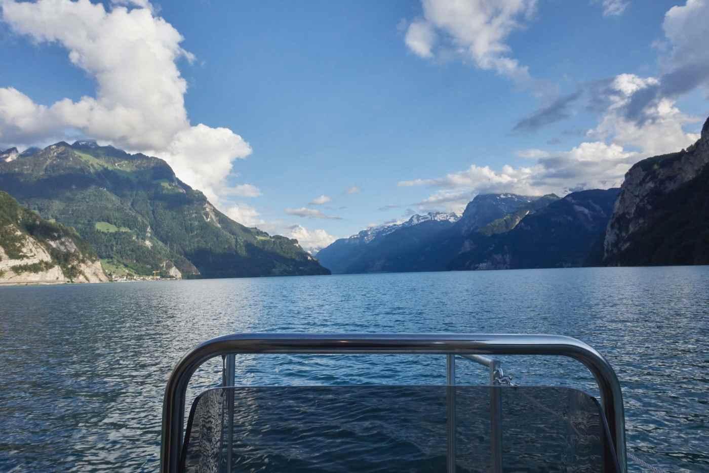 Saunaboot Snack - das Sauna Erlebnis inklusive Apero in Luzern mitten auf dem Vierwaldstättersee