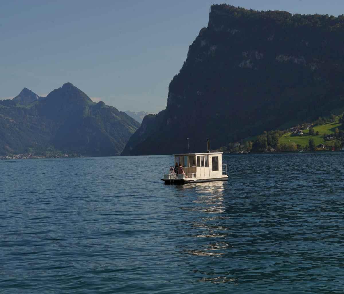 Saunaboot Breakfast - das Sauna Frühstücks Erlebnis in Luzern mitten auf dem Vierwaldstättersee