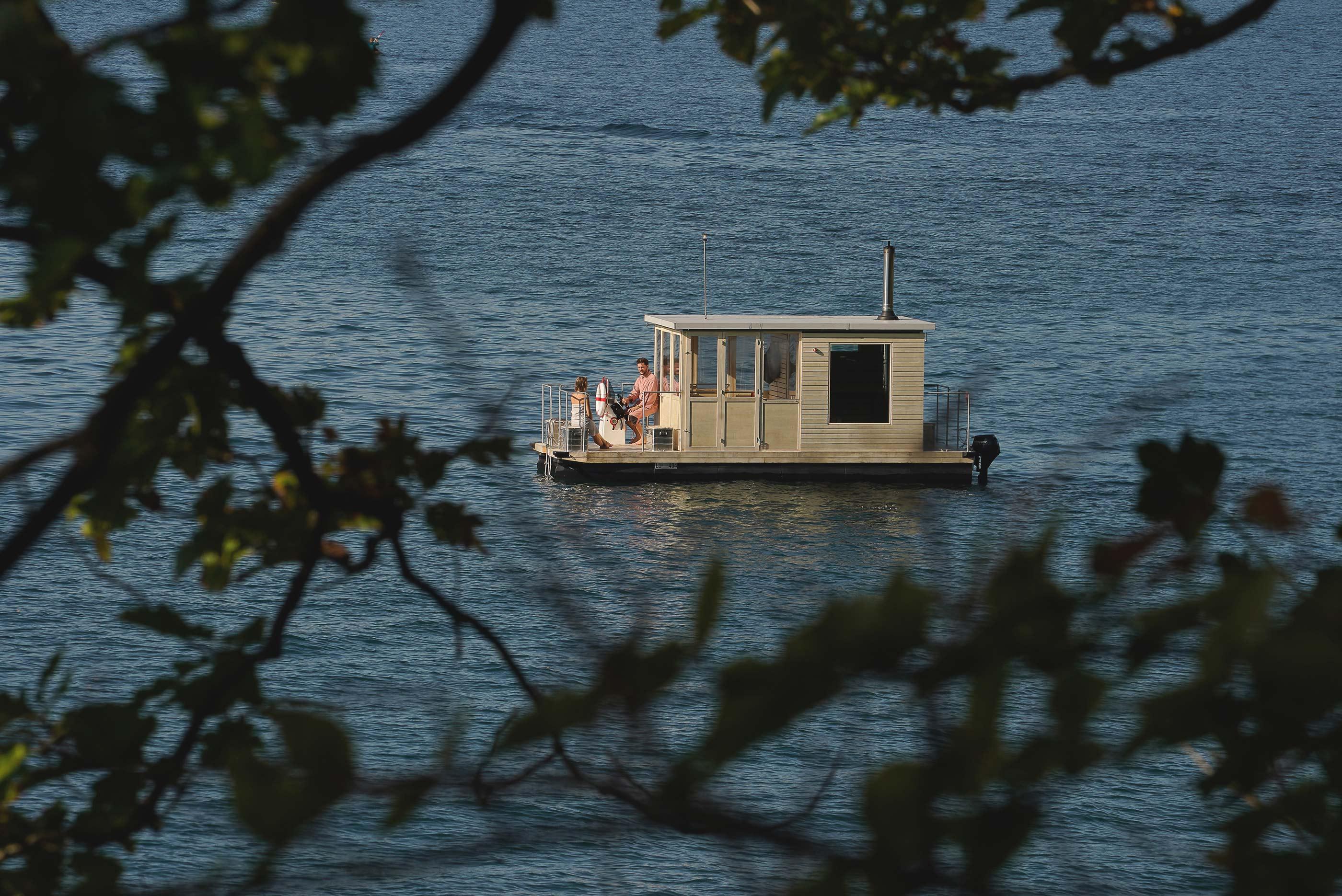 Saunaboot Gutschein - das Sauna Erlebnis mitten auf dem Vierwaldstättersee
