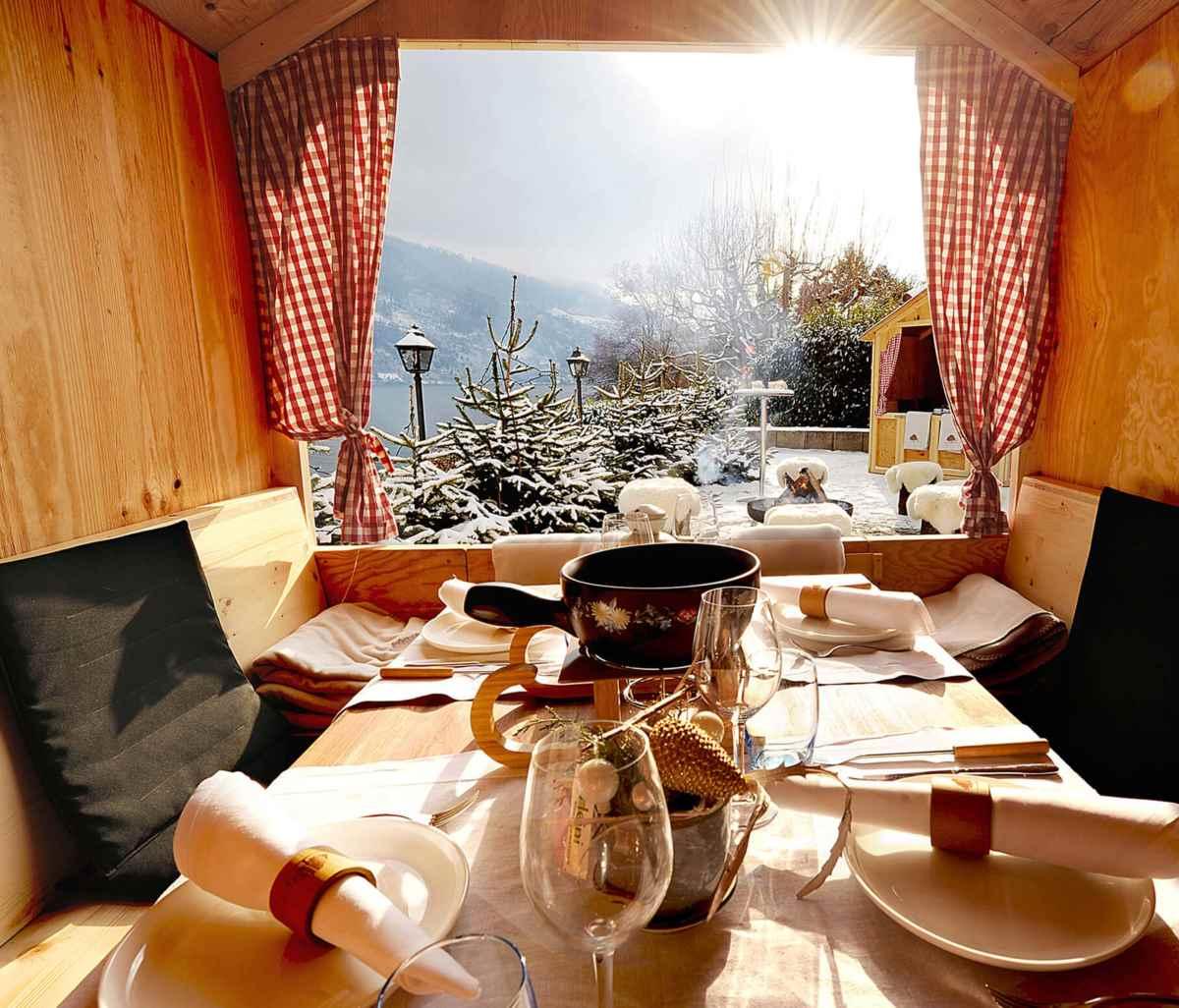 Saunaboot Hotel Kastanienbaum - das Sauna Erlebnis mitten auf dem Vierwaldstättersee