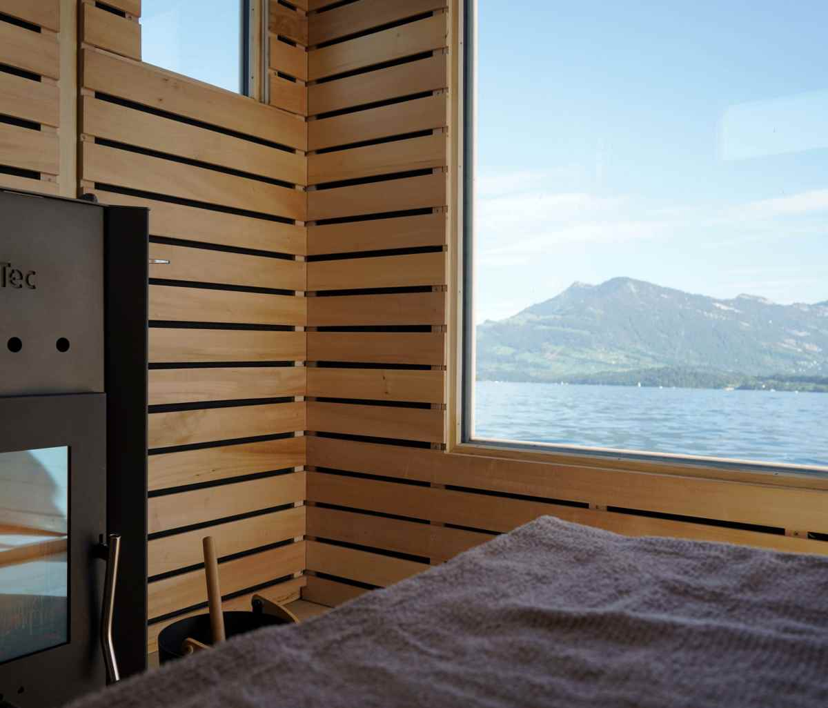 Saunaboot Long - das lange Sauna Erlebnis in Luzern mitten auf dem Vierwaldstättersee